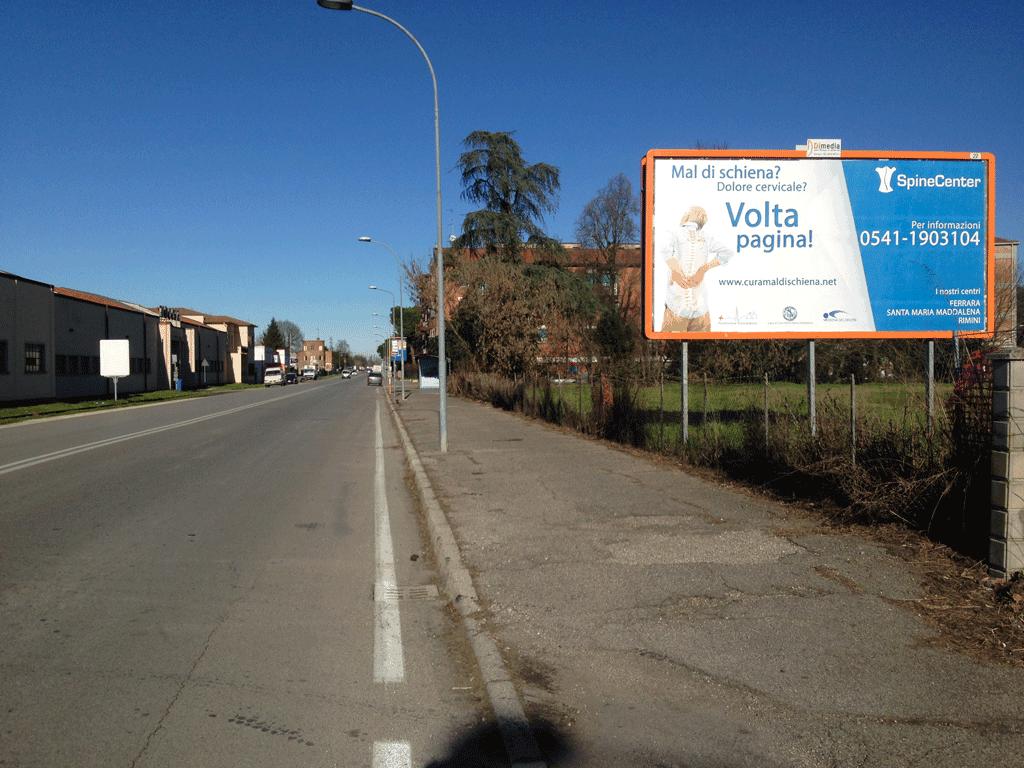 campagna pubblicitaria Ferrara Spine center